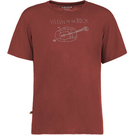 E9 Guitar t-shirt Heren rood